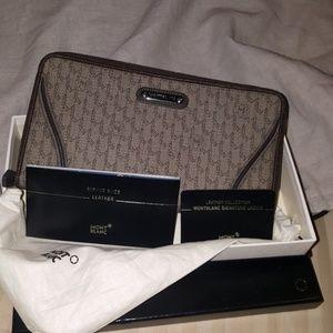 🐽 Montblanc Large Organizer zip wallet